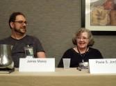 James Maxey and Paula S. Jordan on the Transhumanism Panel, 5-31-14